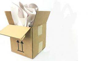 Shipping box.